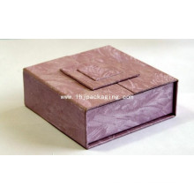 Новый дизайн Изысканный Retrostyle Косметическая упаковка Подарочная бумага Box с средней дверью для показа