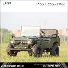 Especializado 150cc Automático USA Army Mini Jeep