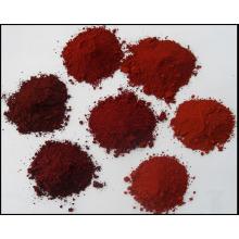 Fabrication d'un pigment d'alimentation en oxyde de fer rouge