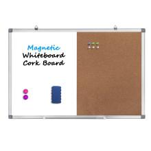 Magnetic Combination White Board Bulletin Cork Board Amzon
