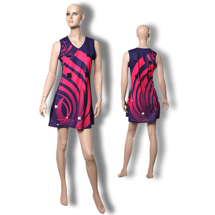 sublimated netball jersey