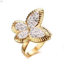 Creat Your Own Stainless Steel Butterfly Wedding Bands Rings