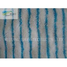 Impreso de poliéster tejido de felpa del picovoltio de manta