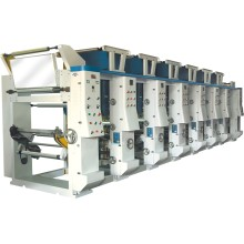Matériel d'emballage Machine à imprimer à rouleaux avec Doctor Blade