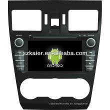reproductor de DVD para coche para sistema Android Subaru Forester
