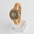 Relógio de luxo da senhora pulseira de liga japão movt. Assista preços