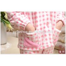 Costume de pyjamas femmes Customed pleine grandeur pour hiver Homewear