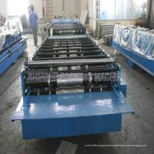 Máquina formadora de telhados e paredes para chapas de metal