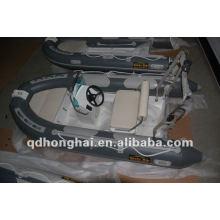 rígida CE rib350 fibra de vidro com pvc ou o hypalon barco inflável