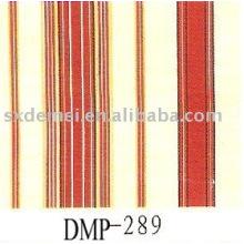 tissu toile rayé blanc et bleu rouge
