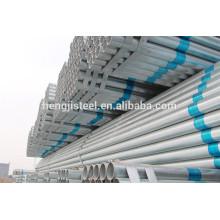 SS400 tubo de acero galvanizado en caliente