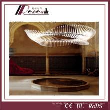 Alumium Delicate Project Kristall Kronleuchter Lampe für Stern Hotels (121792)