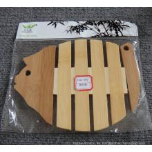 (BC-M1002) Estera de aislamiento térmico de bambú natural