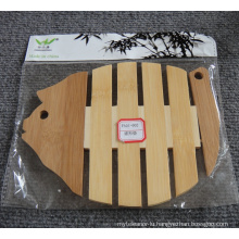 (BC-M1002) Natural Bamboo Heat Insulation Mat