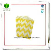 Sacs fabriqués à partir de papier biodégradable et imprimés avec des encres sans nourriture