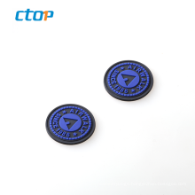 Popular wholesale fashion custom delicate durable low price silicone patch logo custom logo tag pvc rubber label
