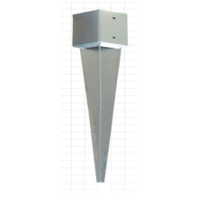 Galvanized Steel Fence Pole Anchor