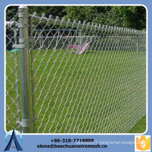 Hot Sale!!!High Security Black PVC Coated Chain Link Fence For Pool