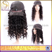 3 Inches Indian Cuticle Virgin Remy Afro Kinky Curly Lace Front Wig