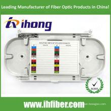 Bandeja de empacotamento de fibra óptica de 24 portas