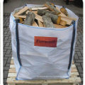 Top Open, Bottom Flat Ventilated Big Bag for Firewood