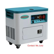 Geradores a diesel refrigerados a ar silenciosos de Bn5800-Ha 5kw 168f