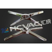 Plastic Car Logo Silver PVD Vacuum Coating Machine, UV Vacuum Metallizing Plant