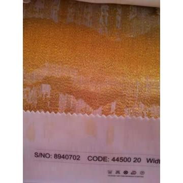 Goldener Jacquard Shining Metalic Curtain Sheers für Zuhause
