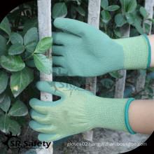 SRSAFETY safety gloves working glove/foam latex glove hand glove