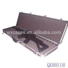 caso de arma militar de alumínio com espuma dentro do fabricante quente vender