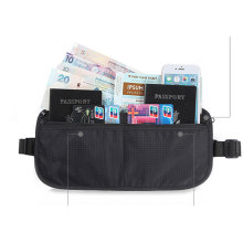 Reisen Sie kleine Rfid Blocking Pouch Neck Card Wallet