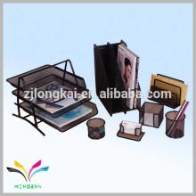 Organizador de escritorio para archivos tarjetas plumas material metálico nuevos productos de papelería