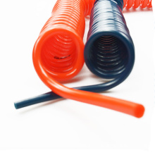 Le tuyau d'arrosage flexible de ressort pneumatique de camion de vide de tuyau de l'unité centrale 12mm