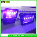 Curing Blacklight 100W Outdoor UV LED Flood Light 390nm