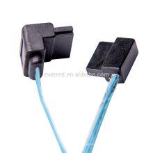 Cable SATA-3 7P de ángulo recto de bajo perfil (ERC477)