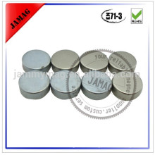 Round silver magnets