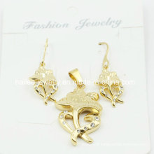 18k Gold Plated Stainless Steel Jewelry Set