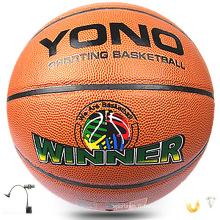 2017 meilleur basket-ball en cuir pvc de basket-ball orange de qualité dans le basket-ball en vrac en gros