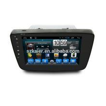 android 4.4.2 quad core car dvd, Bluetooth, mirror-link, DVR, juegos, zona dual, SWC para SUZUKI-Baleno