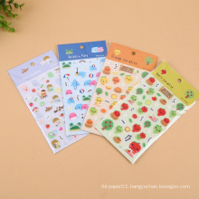 New production student promotion eco-friendly epoxy stickers
