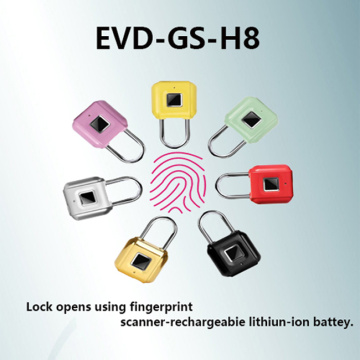 Smart Fingerprint Padlock USB-Aufladung Wasserdicht