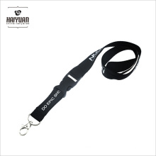Black Separate Lanyard with Eco-Friendly Material Used for Office