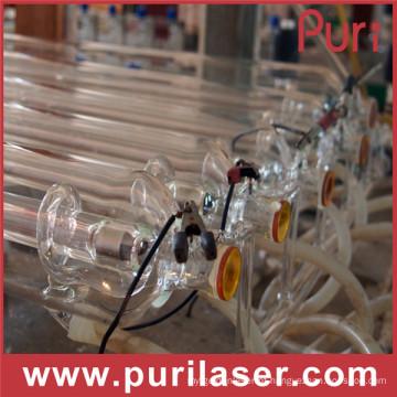 Tubo do laser do CO2 da alta velocidade do corte do poder superior 150W para a venda