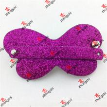 Clip de cheveux en cuir à la mode avec sangle à glissière (HCS50828)