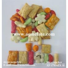 Japanisch gebratener Reis Cracker Snack Essen Mix Reis Carcker