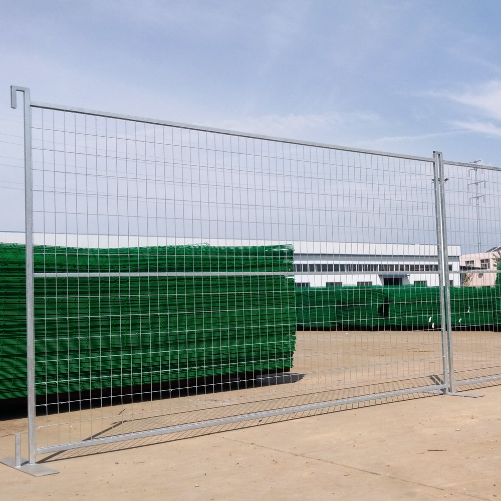 construction temporary fence