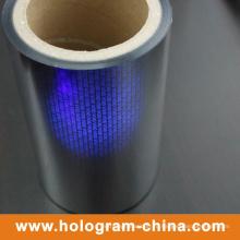 Флюоресцентная пленка с голограммой