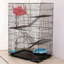 Top Promotions Intérieur Grand 3 Tiers Wire Cat Show Cages