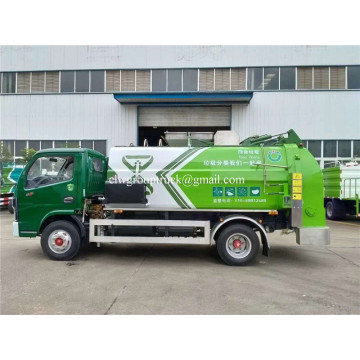 2020 New Waste Collection High Quality Small Kitchen Garbage Truck