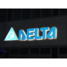 Full Lit LED Acrylic Channel Letter Outdoor Sign